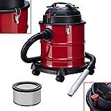 Arebos Aschesauger Premium / 20L Auffangbehälter / 1200W / inkl. HEPA Filter/Flexibler Saugschlauch